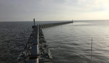NCDOT Builds Living Reef In Pamlico Sound