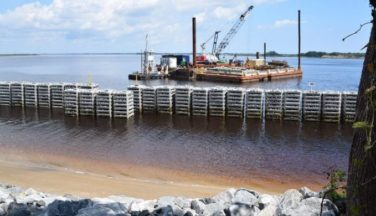 Catching Waves to Save Historic Shoreline