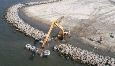 Protecting our Coasts: Atlantic Reefmaker Wave Attenuator System Reducing Coastal Erosion